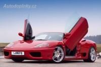 LSD vertikální otevírání předních dveří Ferrari F360 Modena -- od roku výroby 03/99-